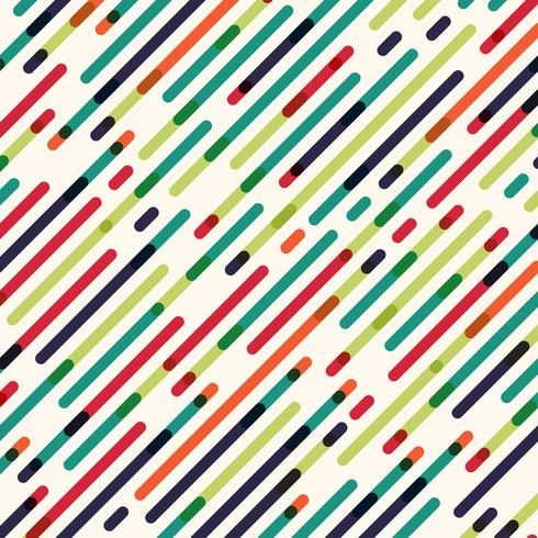 Abstract seamless diagonal red green and blue color lines pattern background
