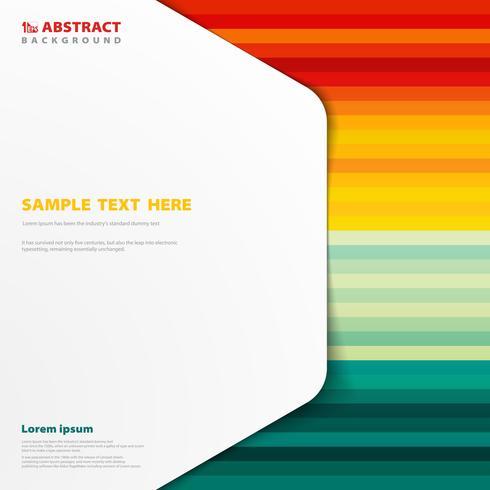 Abstrait de motif coloré avec espace de copie de couverture.