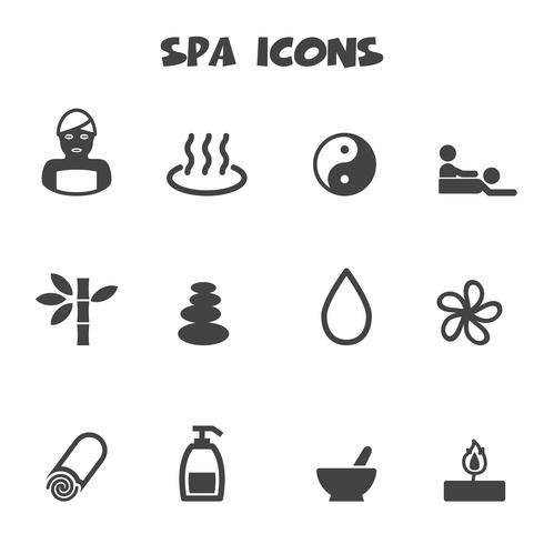spa pictogrammen symbool
