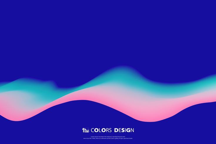 Bunte Masche der purpurroten modischen Designbewegung
