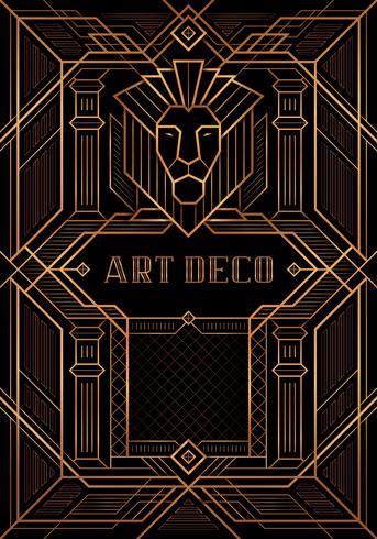 De Great Gatsby Deco-stijl