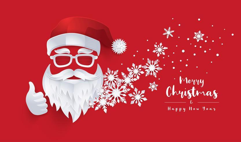 Merry Christmas wenskaart