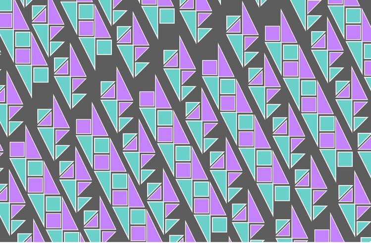 géométrique sans soudure de fond vecteur
