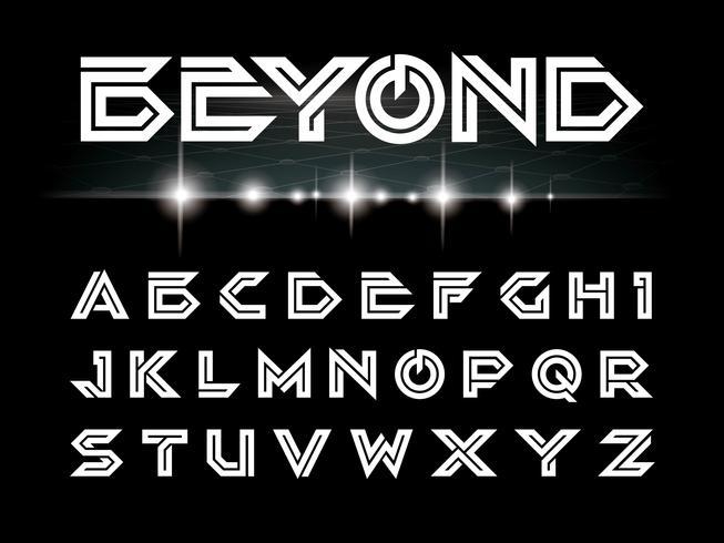 Beyond White Font