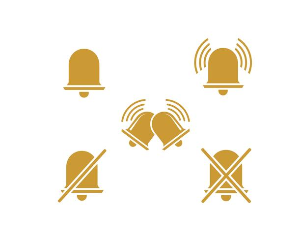 bell notification icon vector