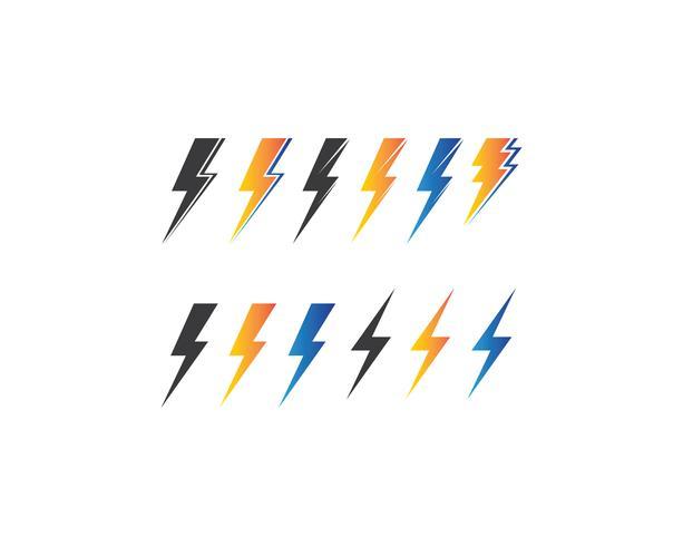 flash power of energy et illustration électrique vecteur