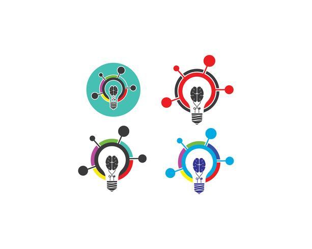 idée d'ampoule, créative, illustration de concept