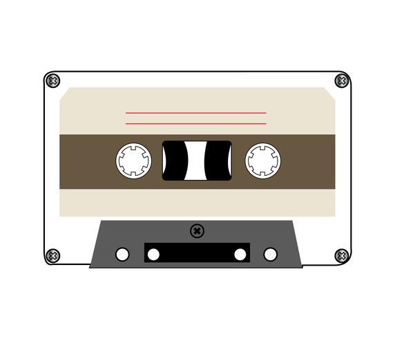 Fita musical vintage em branco