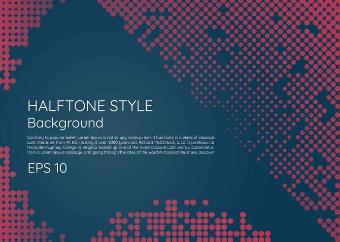 Semitono fondo moderno estilo minimalista con espacio para su texto vector