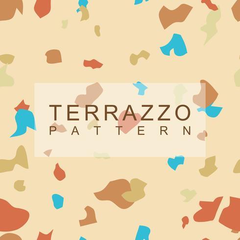 Terrazzo patroon achtergrond