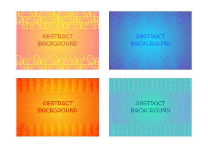 Geometric pattern background  vector