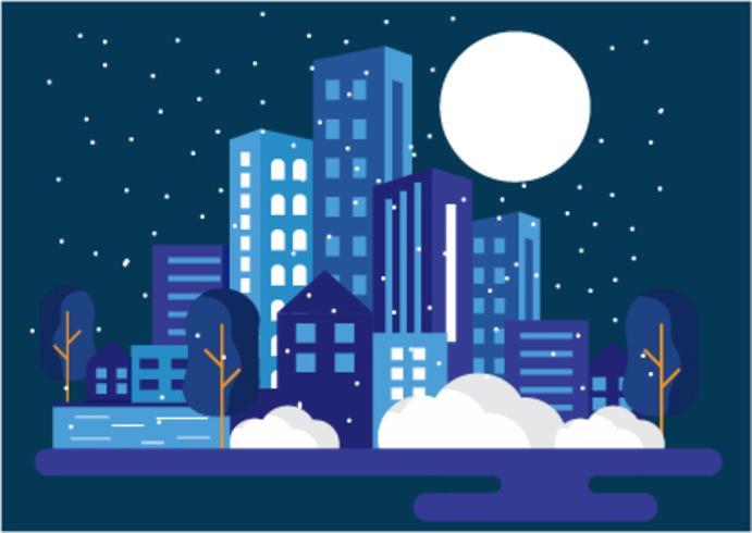 Una città nella notte