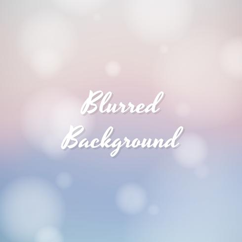 Blurred background pastel colors