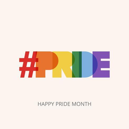 LGBT Pride typography
