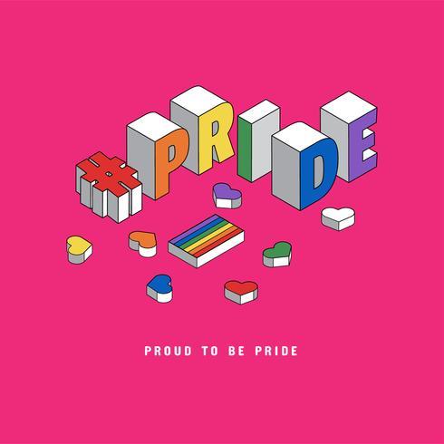 Tipografia LGBT Pride