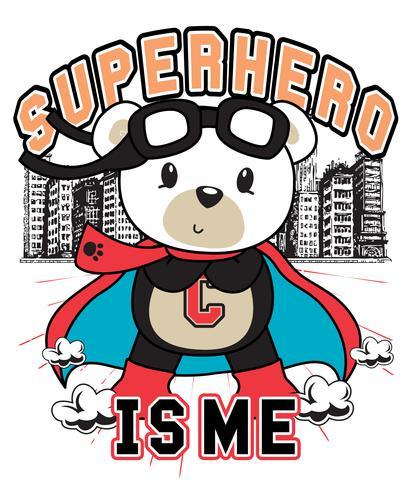 O super-herói sou eu urso