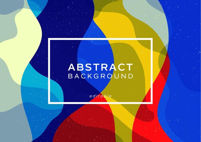 projeto dinâmico abstrato da onda do estilo minimalista