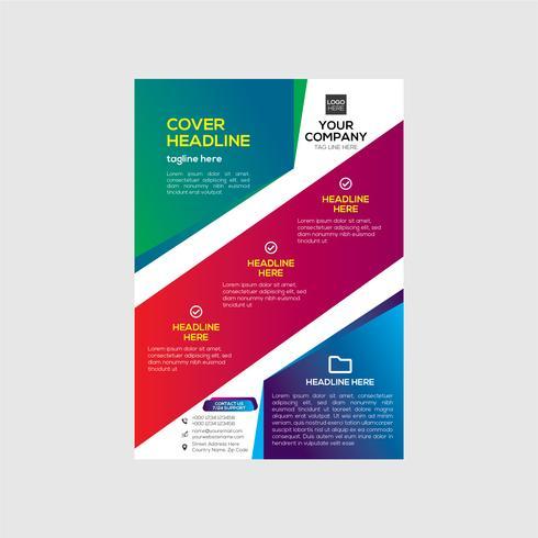 Real Estate Colorful Business Flyer Design