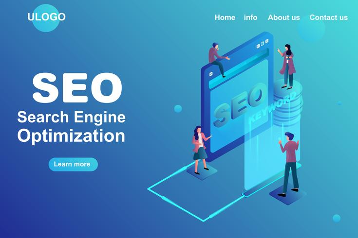 Search engine optimization strategy concept