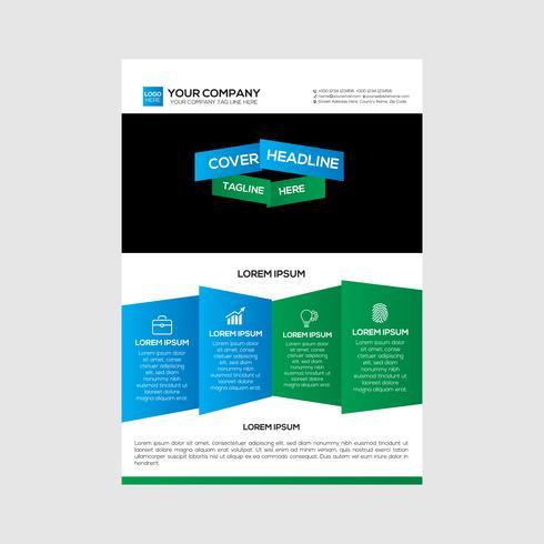 Flyer Design Stratégie d'entreprise