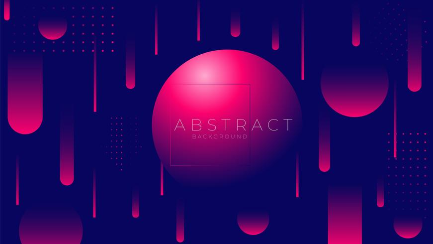 Minimal geometric Trendy gradient shapes composition.  vector