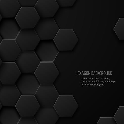 Carbon technology  hexagon pattern