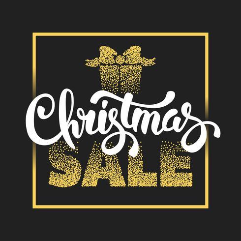 Cartaz de venda de Natal