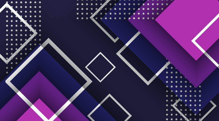 Elementos geométricos de fondo abstracto de memphis vector