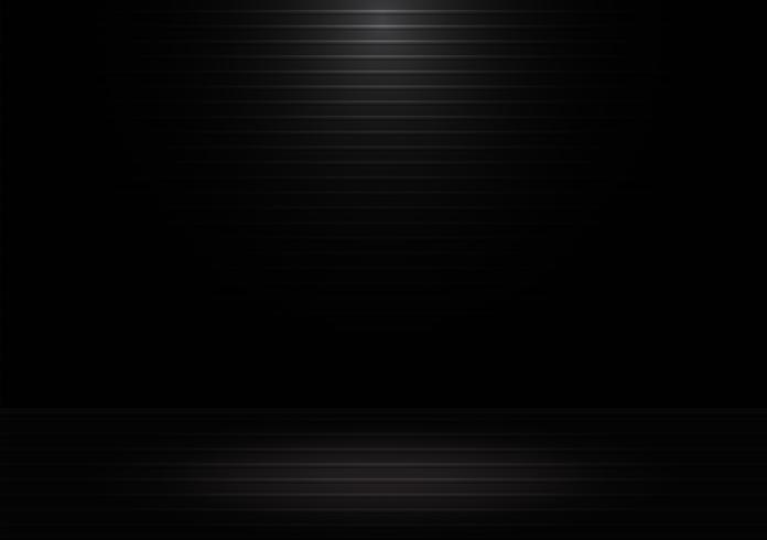 Abstrato preto com linhas brilhantes