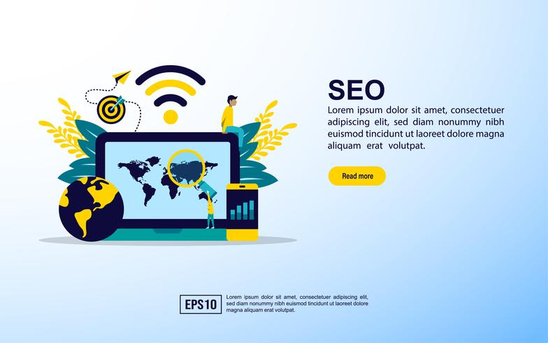 Page Web d'information SEO