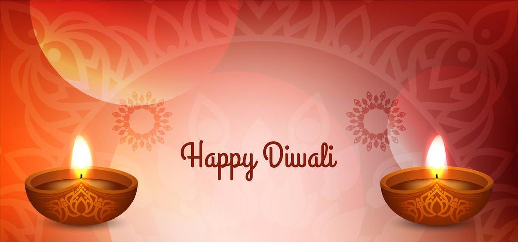 Felice Diwali design elegante festival