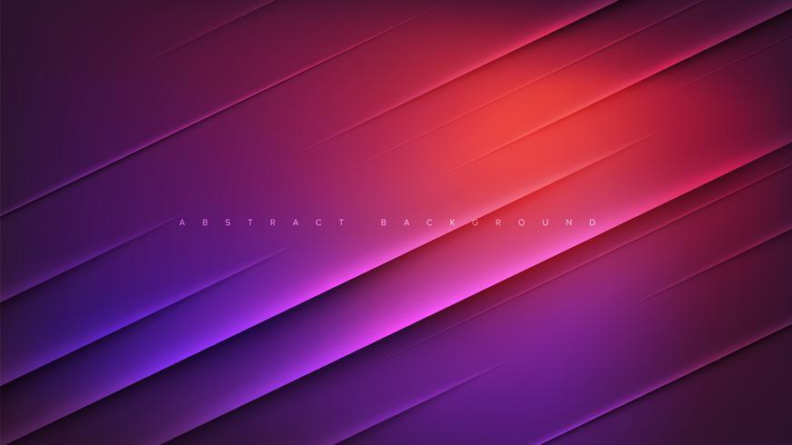 Rosa und purpurroter abstrakter Hintergrund vektor