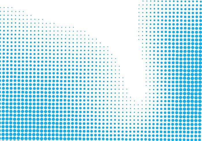 Fondo de semitono azul mínimo abstracto vector