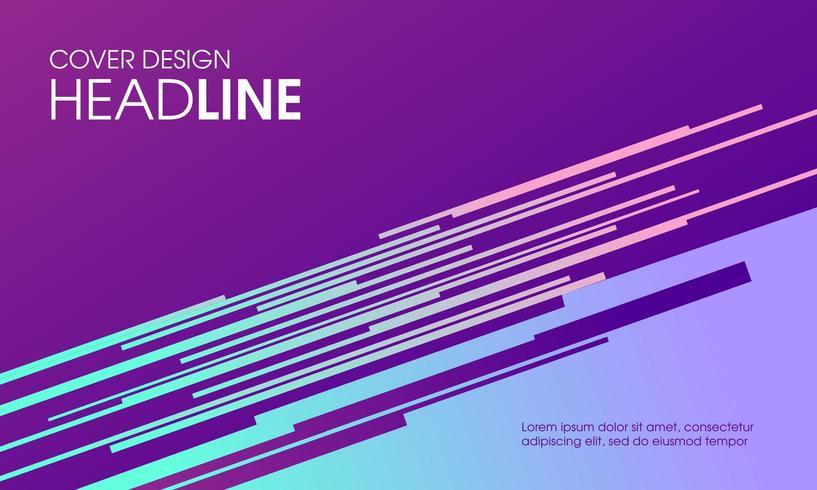 Fondo de banner de presentación moderna vector