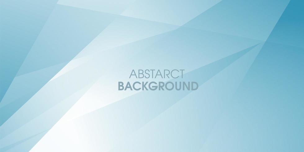 Fondo abstracto de color azul poligonal vector