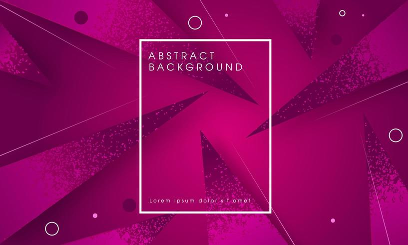 Modern geometrisch abstract paars