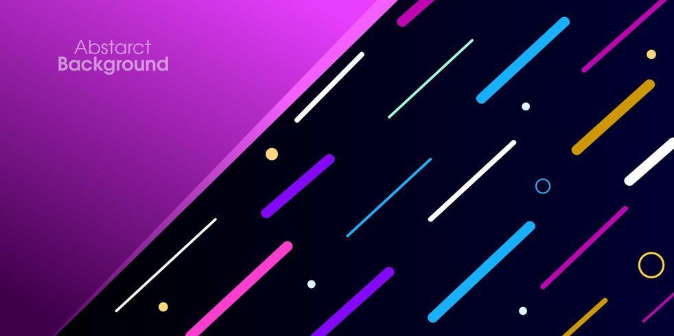 Fondo geométrico abstracto colorido vector