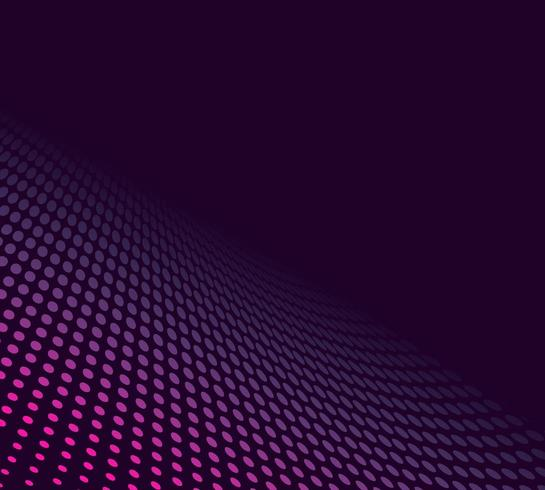 Abstract Purple halftone background  vector