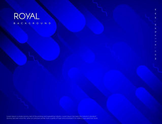 Fundo azul royal