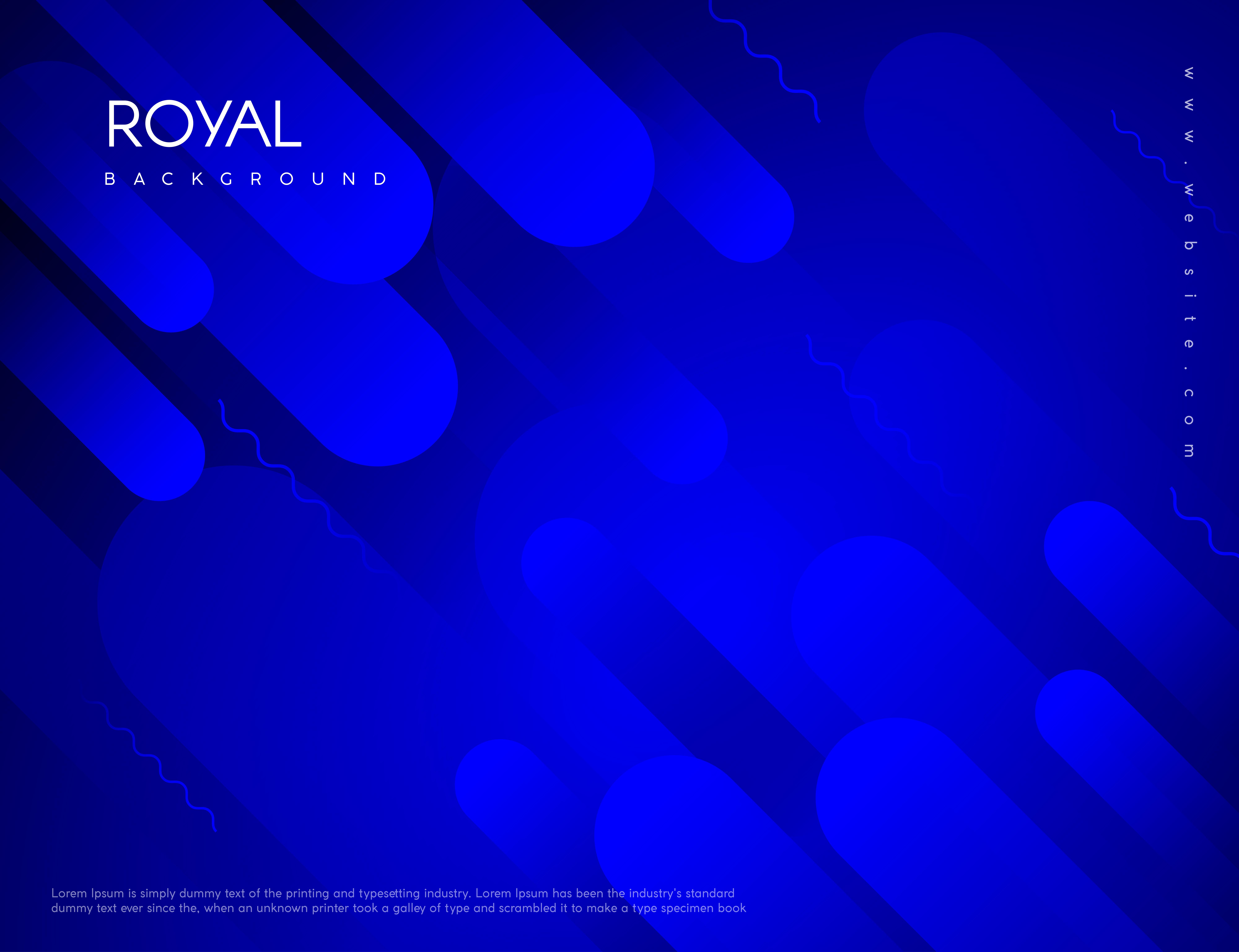 Royal Blue Background 677261 Vector Art At Vecteezy