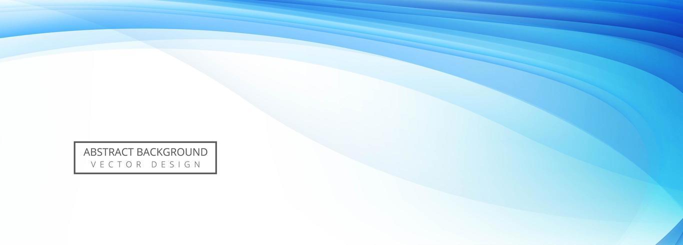Blaue Welle Design