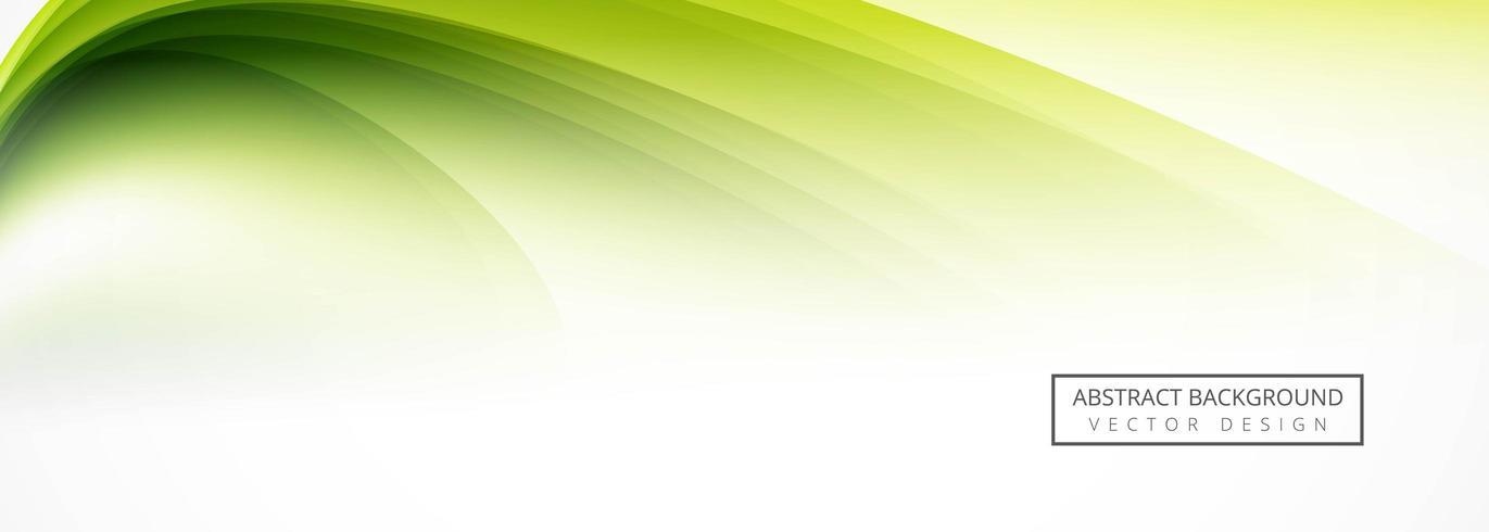 Abstract green header design  vector