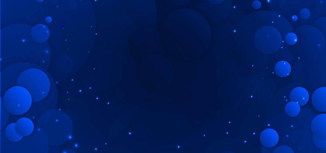 Fond abstrait bleu clair circulaire