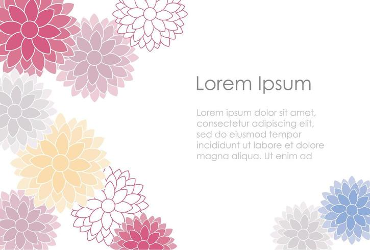 colorful Japanese New Years card template. vector