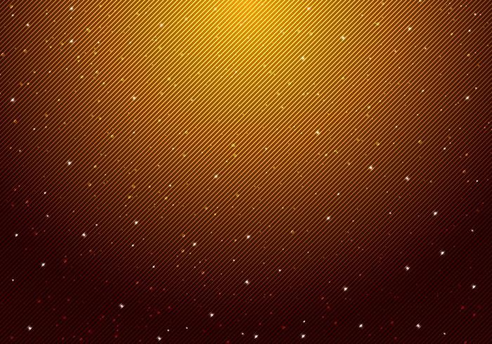 Noche brillante cielo estrellado con estrellas universo espacio vector