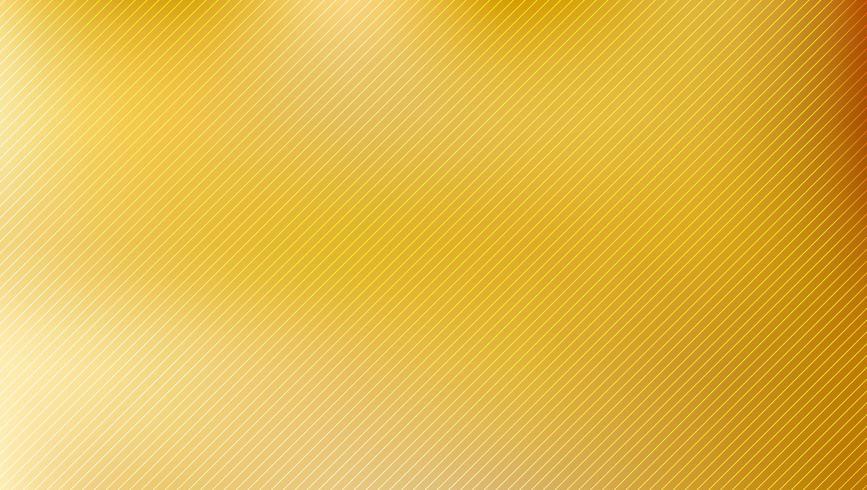 Fondo borroso dorado con textura de líneas diagonales vector