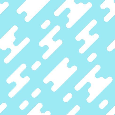 Naadloos patroon van wolken en blauwe hemel
