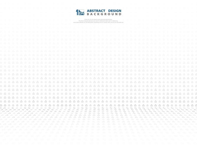 Abstract grey gradient dot technology perspective pattern