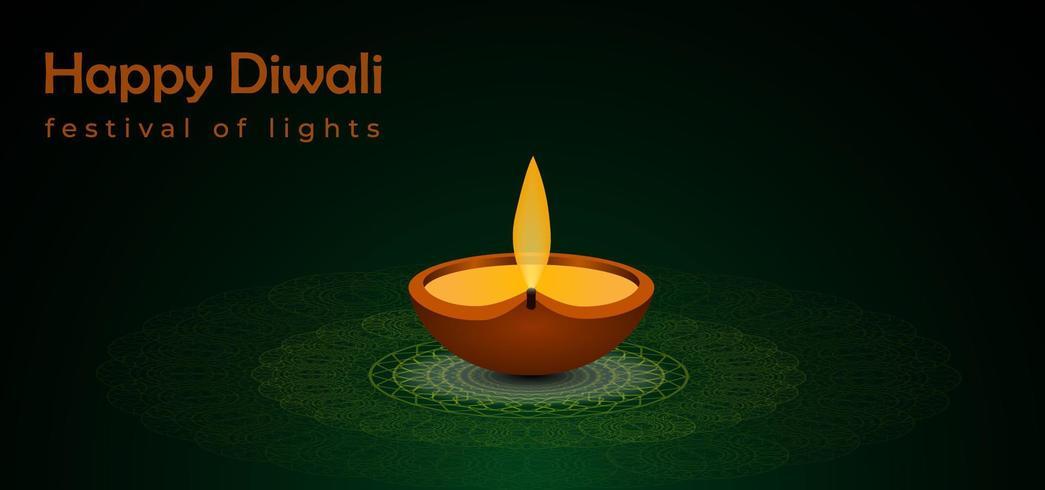 Sfondo astratto festival di diwali