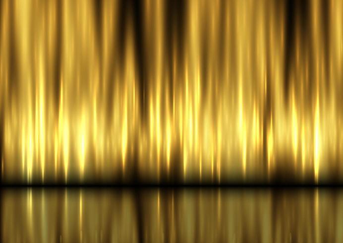 Anzeigenhintergrund mit goldenem Vorhangdesign